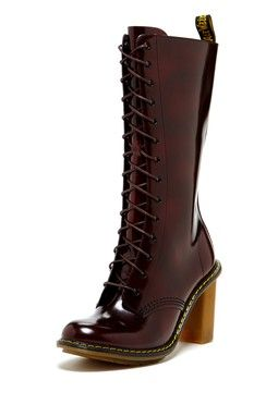45527846f11 Dr. Martens Louise High Heel Lace-Up Boot
