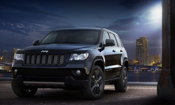 2012 Jeep Grand Cherokee Concept U2013 Cars Luxurious U2013 The Production Intent  Concept Rides On Tires That Surround One Of A Kind Black Gloss Aluminum  Wheels For ...