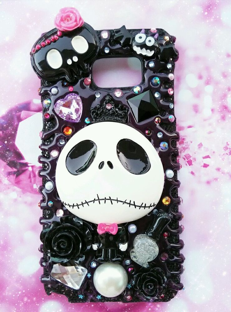 Nightmare Before Christmas Phone Case.Details About Jack And Sally Nightmare Before Christmas