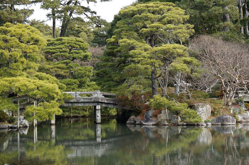 Kyoto, The Kyoto Imperial Palace (京都御所 Kyōto-gosho?) is the former ruling palace of the Emperor of Japan. The emperors have resided at the Tokyo Imperial Palace since 1869 (Meiji Restoration); the preservation of the Kyōto Imperial Palace was ordered in 1877