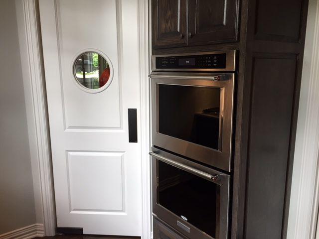 Kitchen Swinging Door With Port Hole Doors