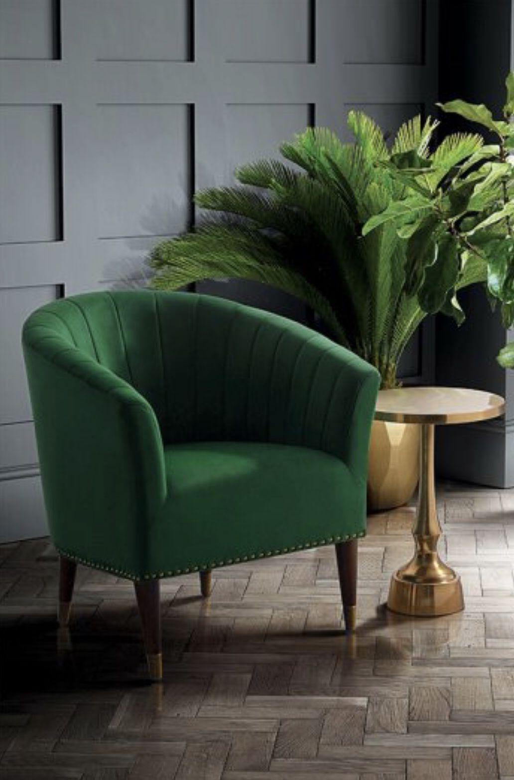 Bellini Armchair Bottle Green Velvet Green Home Decor Green Sofa Living Room Decor Gray