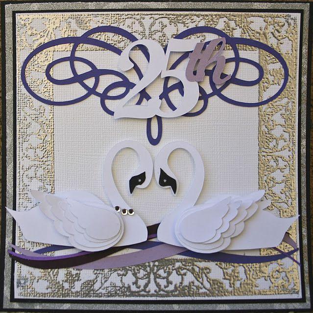 Scrap Til Your Heart S Content Anniversary Cards Handmade Cricut Anniversary Card 50th Anniversary Cards