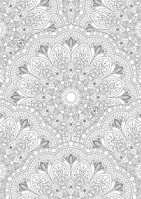 Pin de Ann Furnas en Design Patterns | Pinterest | Mandalas, Dibujar ...