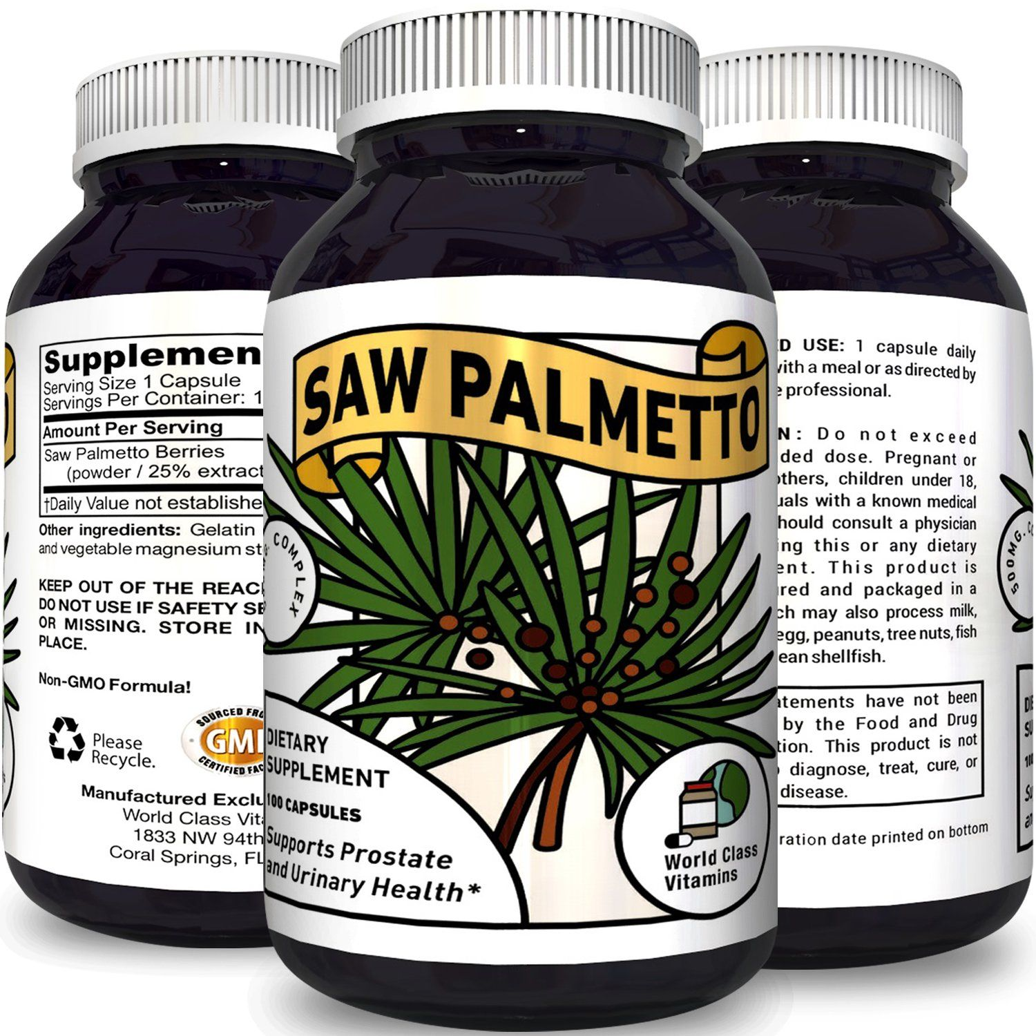 saw palmetto dosage for hair loss treatment