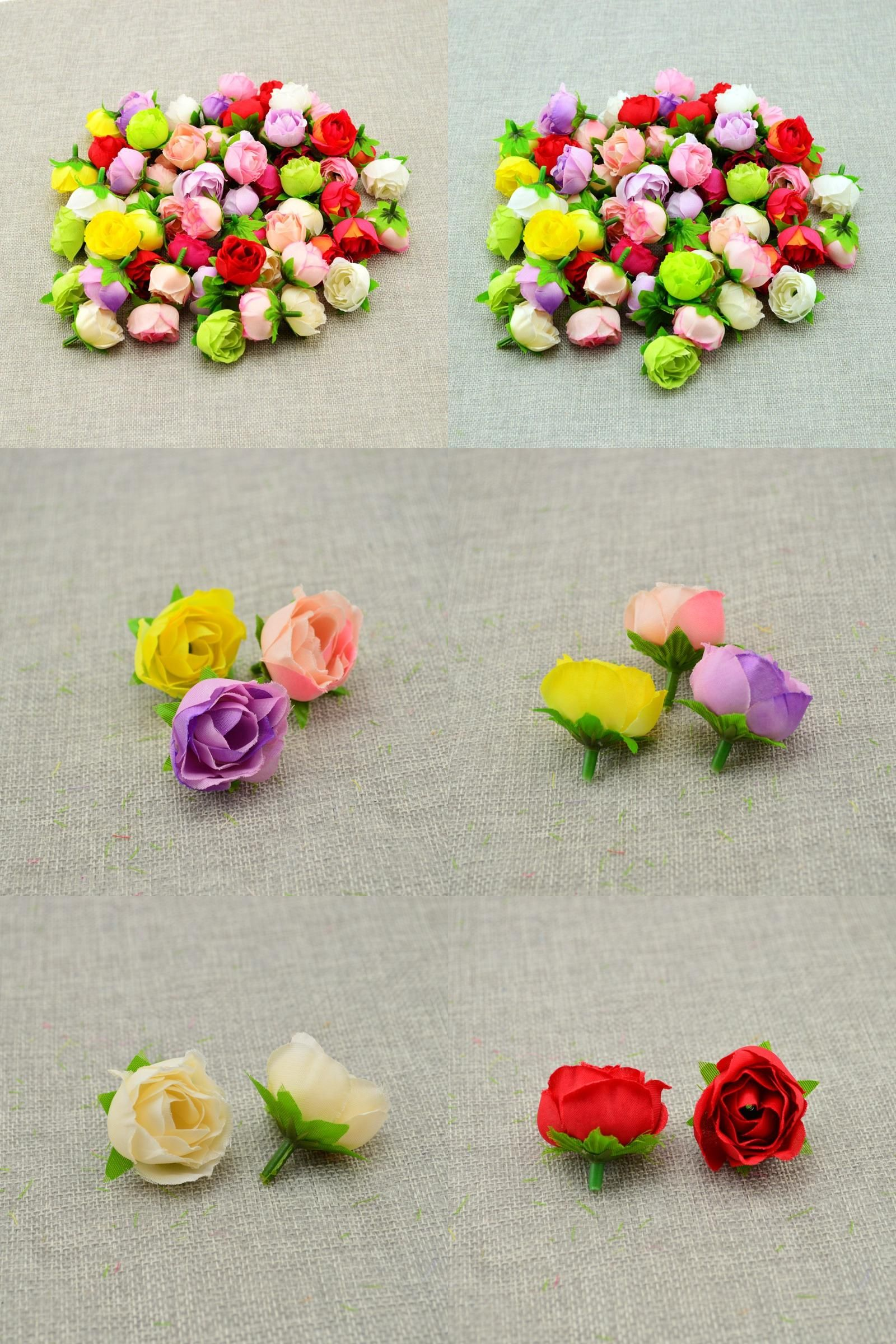 Visit To Buy 30pcs Cheap Artificial Flowers Diy Home Decoration
