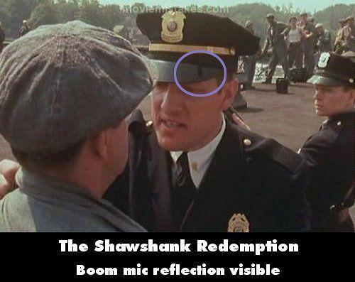 The Shawshank Redemption Movie Mistake Picture The Shawshank Redemption Redemption Pictures