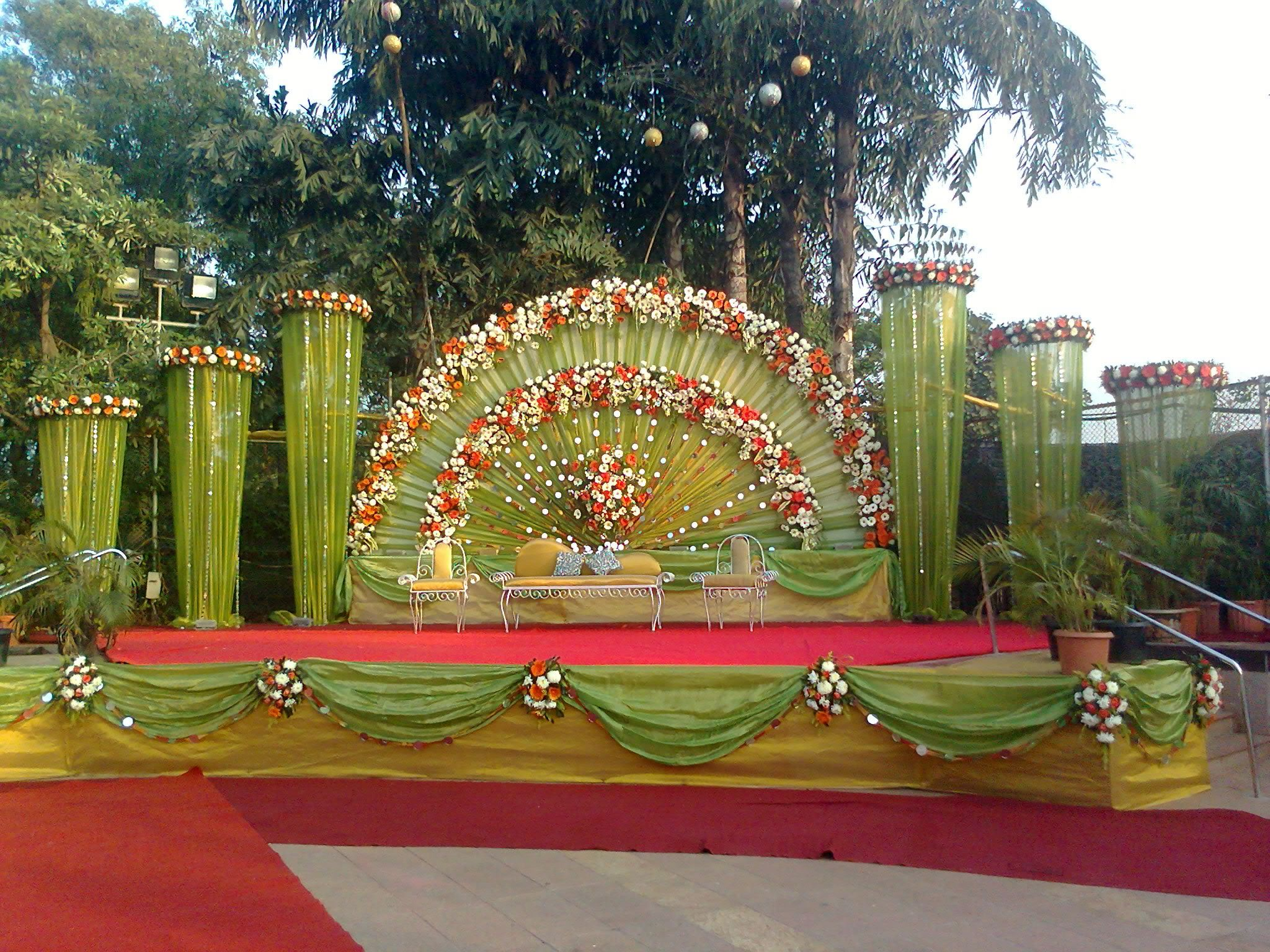 Genial Stage Decorations Image Of Indian Wedding Stage Decoration Stage Decoration  Stage Decoration 8