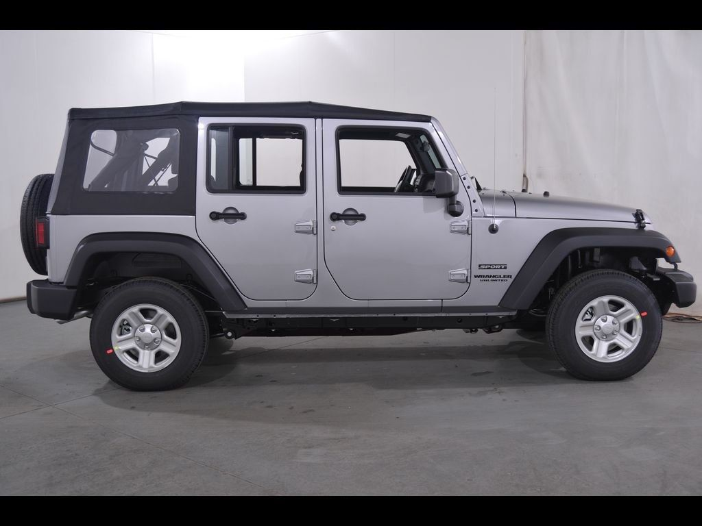 2016 JEEP WRANGLER UNLIMITED SPORT 4WD LEASE SPECIAL