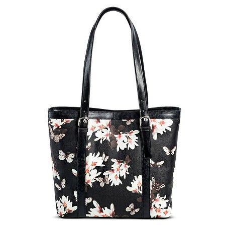 7879bb6ef3aa Bueno of California Women's Faux Leather Print Tote Handbag with ...