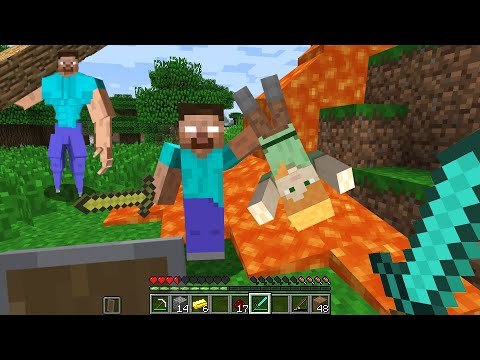 670 Don T Be Friends With Herobrine Vs Alex In Cursed Minecraft Unlucky Part 2 Boris Craft Boris Craft Youtube Minecraft Crafts Scooby