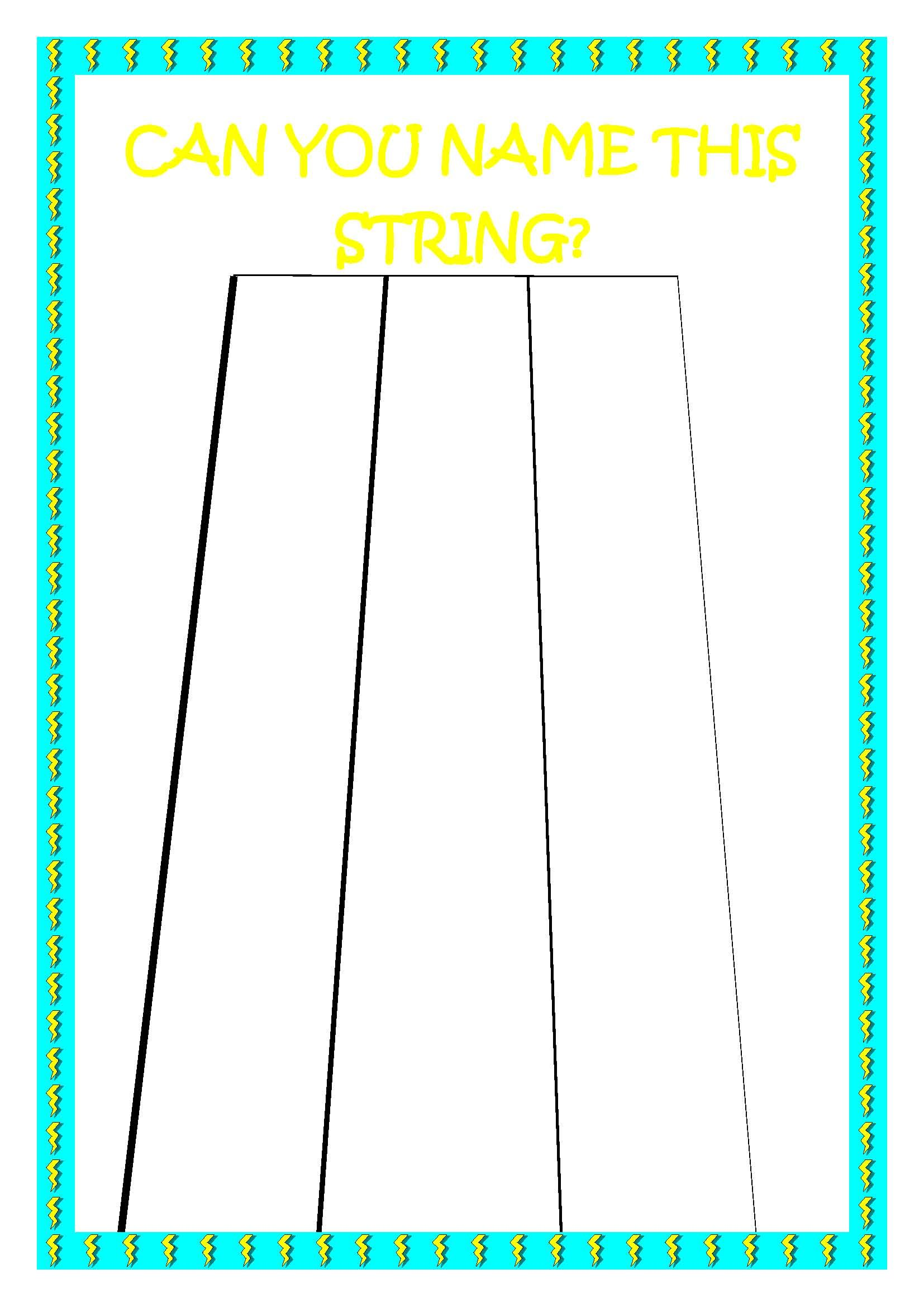 Can You Name This String Game