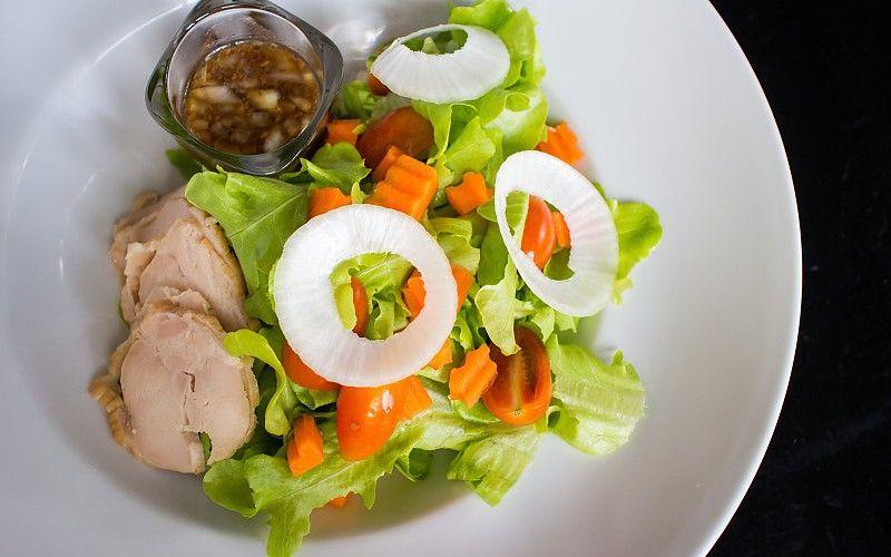 carne de pollo cebolla de alimentos vegetales fondo de pantalla