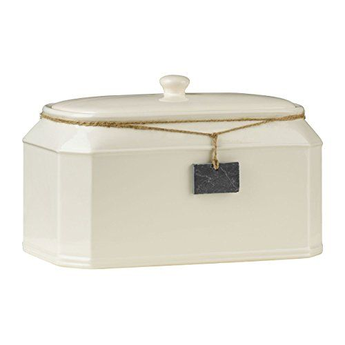 Bread Bin with Slate Hanging Tag Premier Housewares…