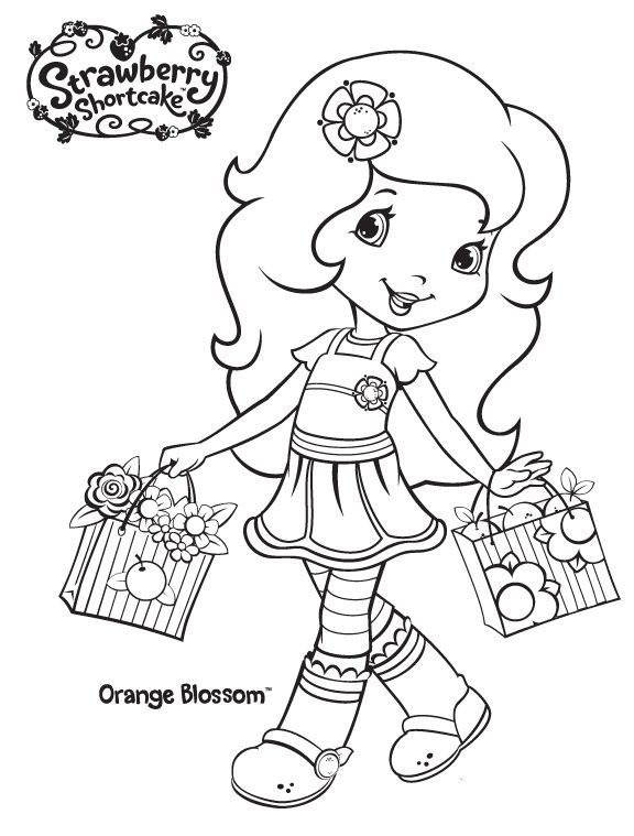 Strawberry Shortcake Coloring Page Strawberry Shortcake Coloring Pages Coloring Pages Coloring Books
