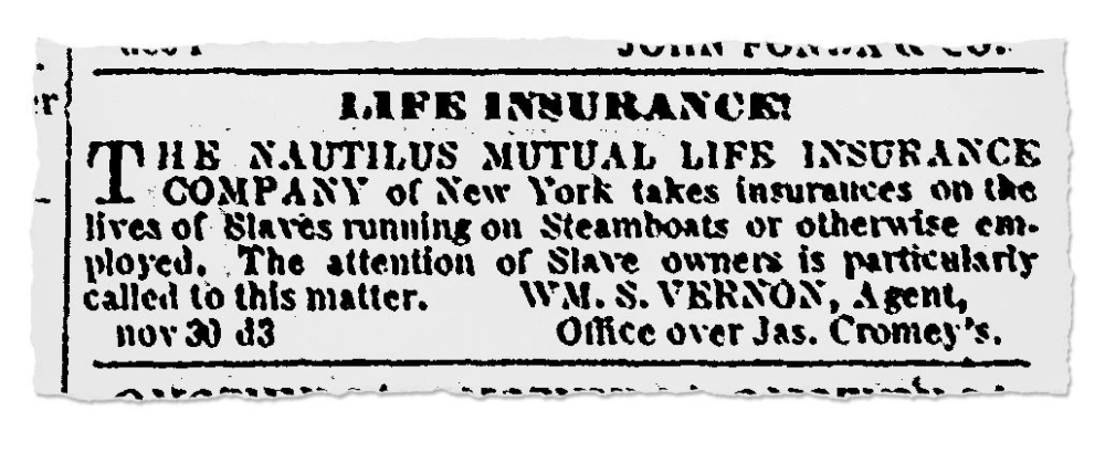 Insurance Policies On Slaves New York Life S Complicated Past