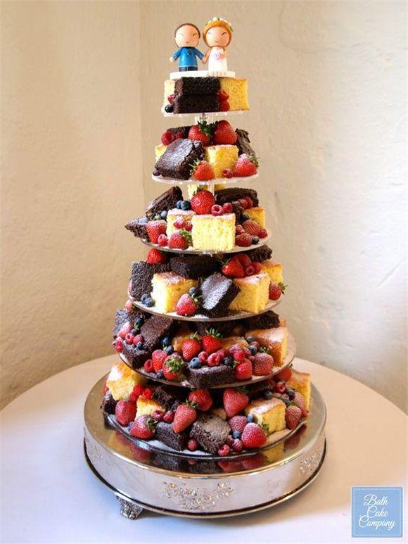 18 Auffällige und köstliche Hochzeitstorten-Alternativen   – One day!