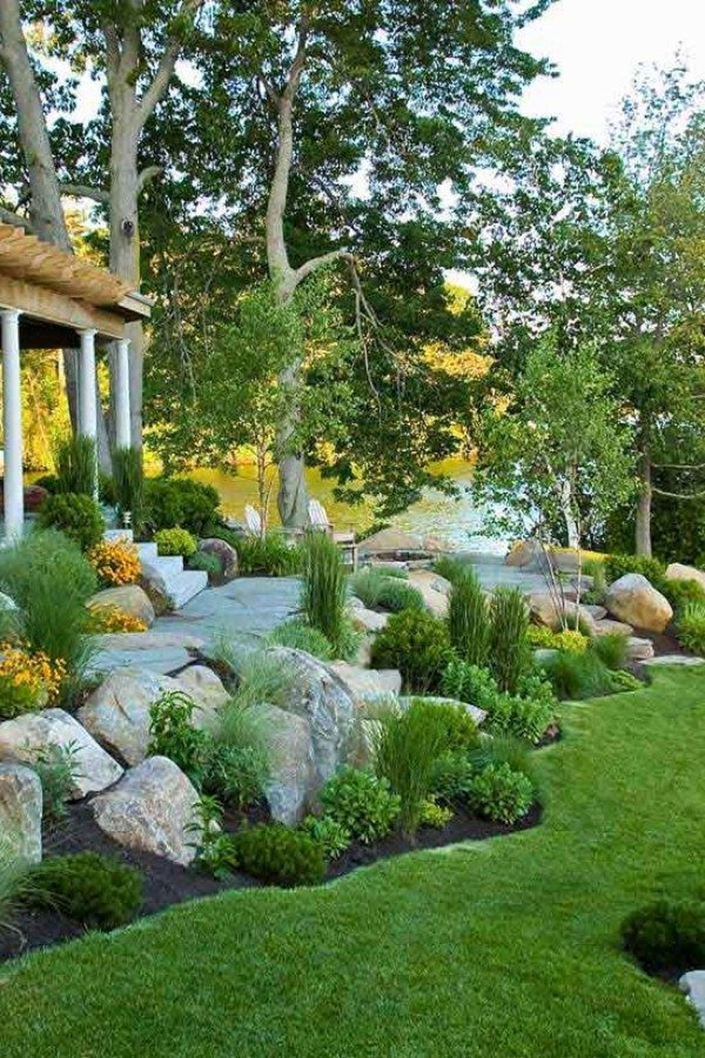 Get The Best Backyard Landscape Design Ideas In This Article And Get Ready To Convert Backyard Landscaping Designs Rock Garden Landscaping Rock Garden Design