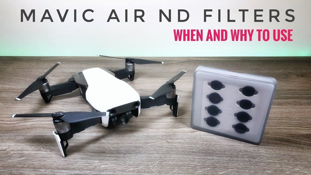 Mavic Air Nd Filters By Freewell Gear Mavic Air Gear Filters