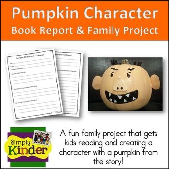We have all seen those cute pumpkins that match our favorite - book report sample