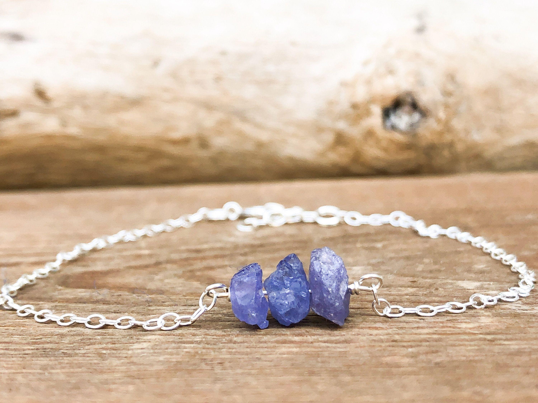 Tanzanite Bracelet December Birthstone Gift