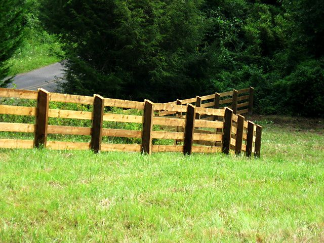 Post And Rail Fencing Ireland Timber Post And Rail Fencing