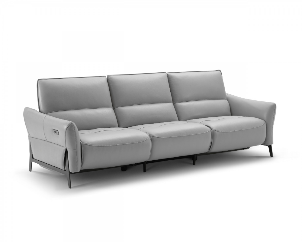 Silas Modern Sofa With Recliners Creative Furniture Modern Sofa Leather Reclining Sofa Furniture