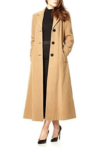 09f99fc36c8c8 Abrigo lana camel largo  Amazonmoda  Abrigosmujer   Modaotoño invierno2017 2018  Outfit  Moda  Mujer  Abrigos  Parkas