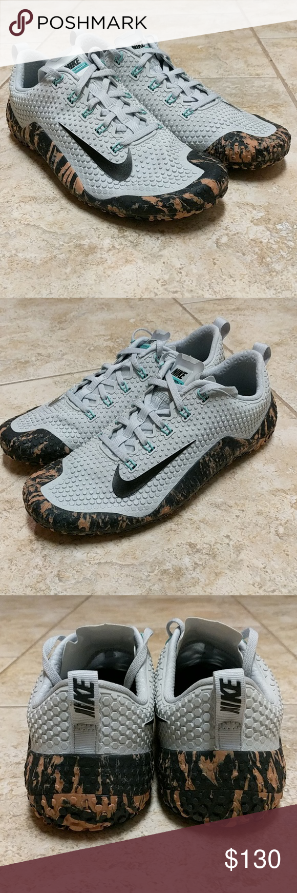 33e6902c84ba ... official nike free trainer 1.0 platinum gum camo 10 11.5 brand new  without box. will