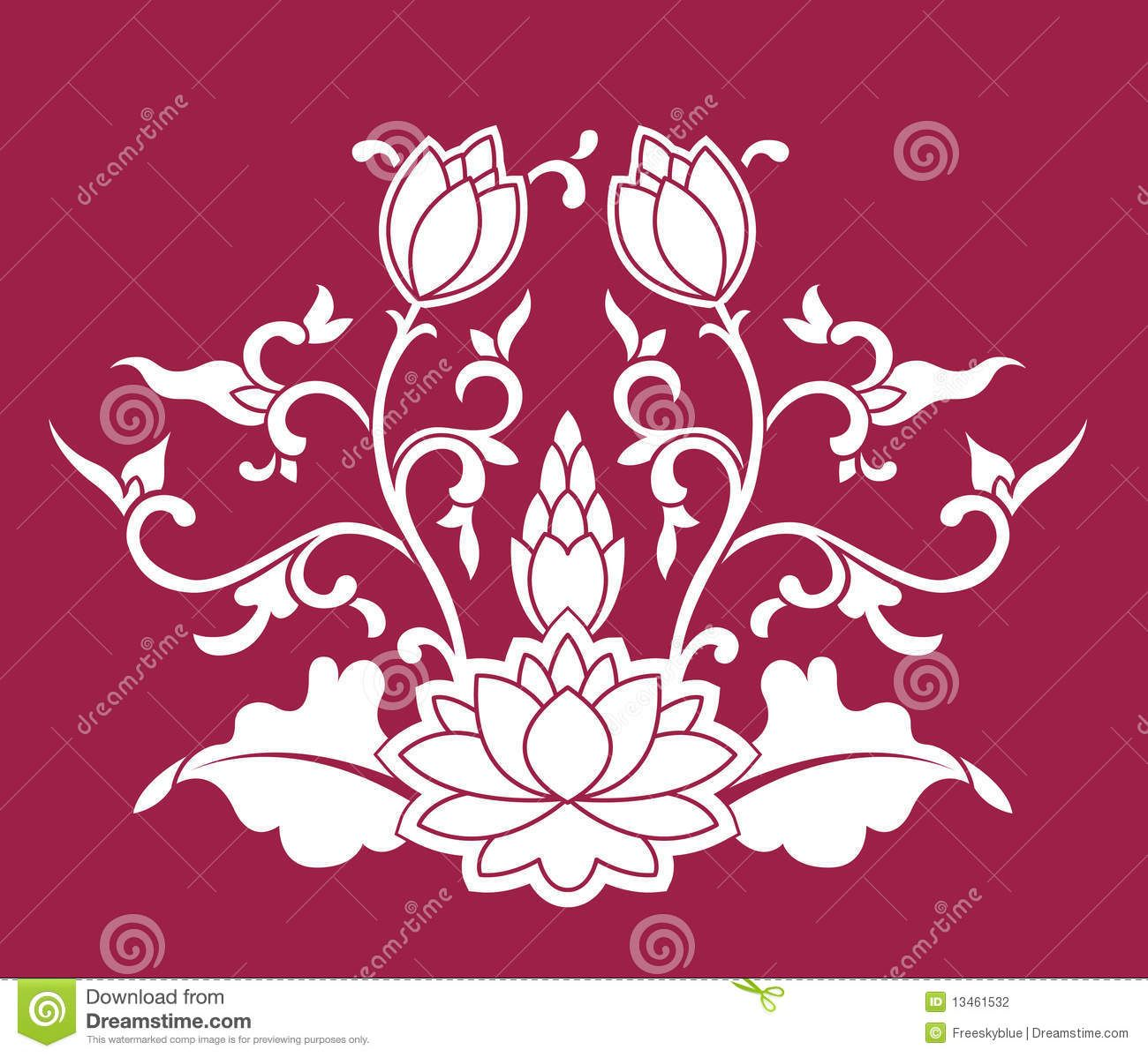 Yoga pattern background seamless pattern with five petals lotus flower - Chinese Patterns Chinese Lotus Google Search