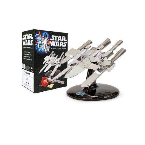Intergalaktischer KüchenGadget Star Wars X-Wing Messerblock | Küchen ...