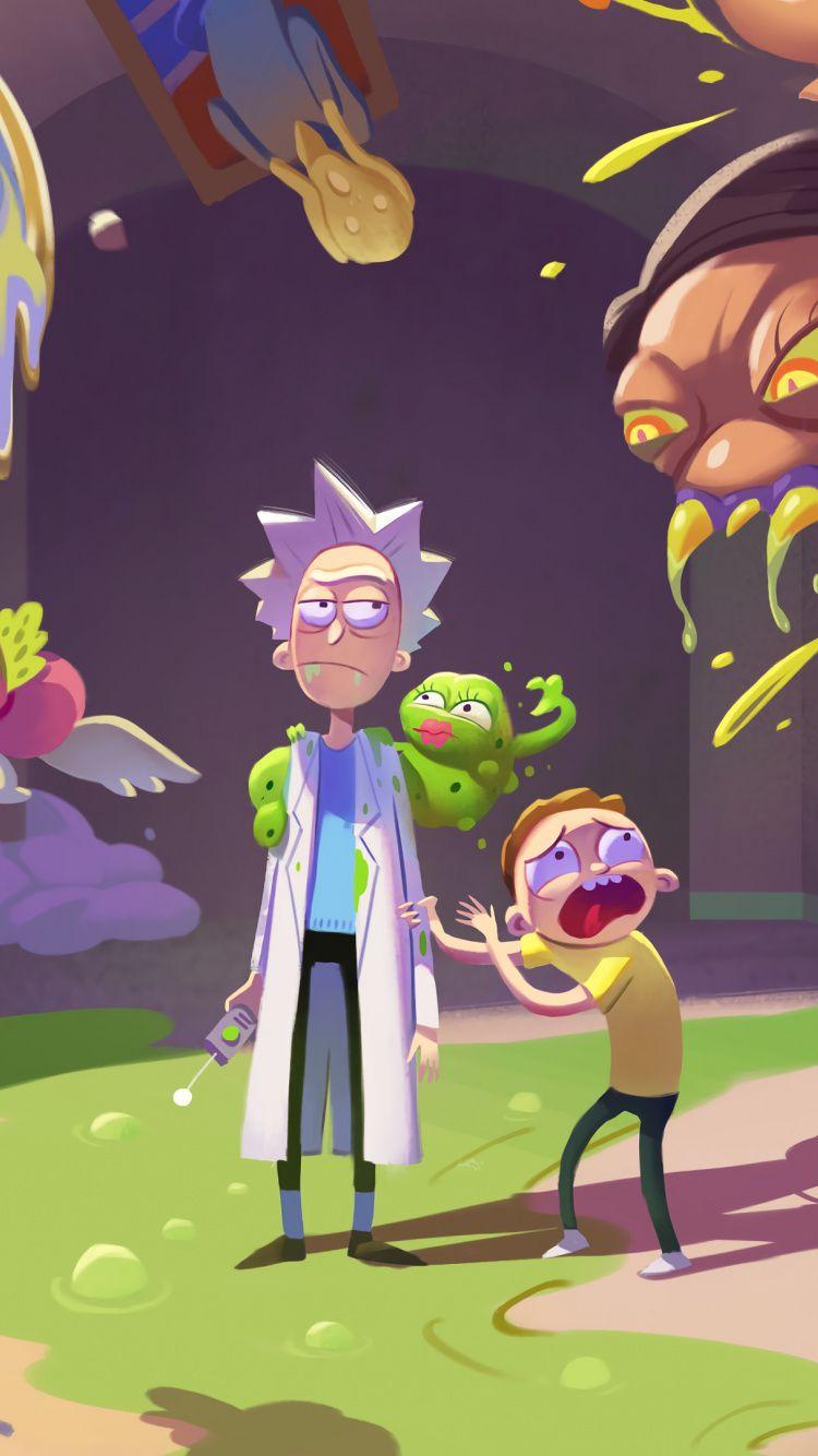 750x1334 Popular Tv Series Rick And Morty Season 4 2019 Wallpaper Rick And Morty 2019 Wallpaper Rick And Morty Season 4