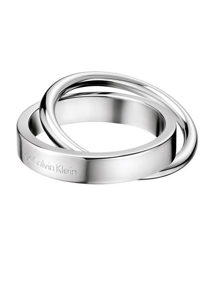 5f1a72f047edf Calvin Klein Collection Core Collection CK Coil Anel Joia para Mulher