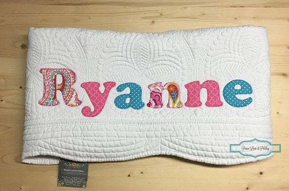 Personalized baby quilt personalized baby gift monogrammed personalized baby quilt personalized baby gift monogrammed negle Image collections