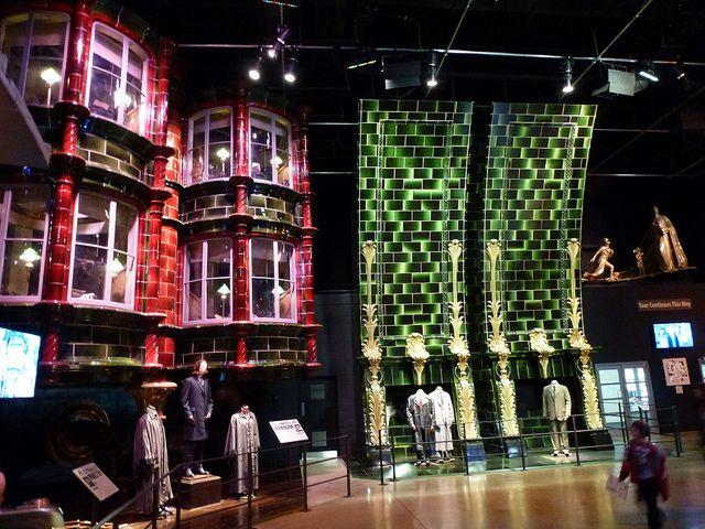 Ministry Of Magic Harry Potter Tour Warner Bros Studios Leavesden London Harry Potter Tour Harry Potter Studio Tour Harry Potter Studios