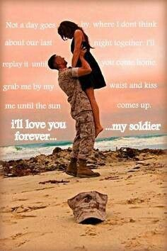 Dating a military man quotes