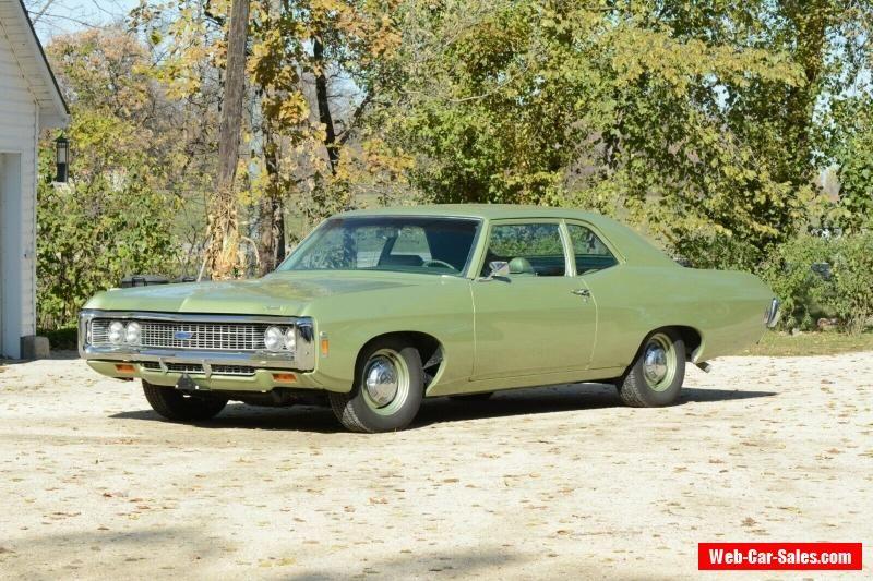 1969 Chevrolet Biscayne Impala Chevrolet Biscayne Forsale Canada