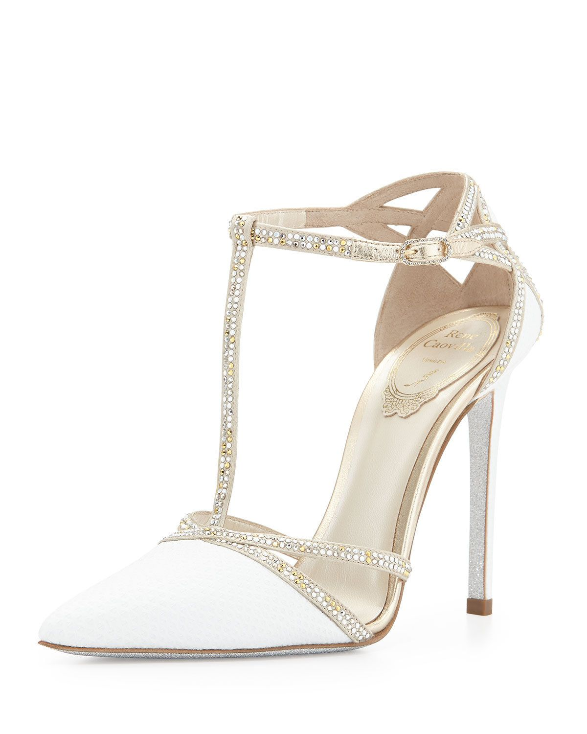Fairytale Wedding Shoes That Would Make Even Cinderella