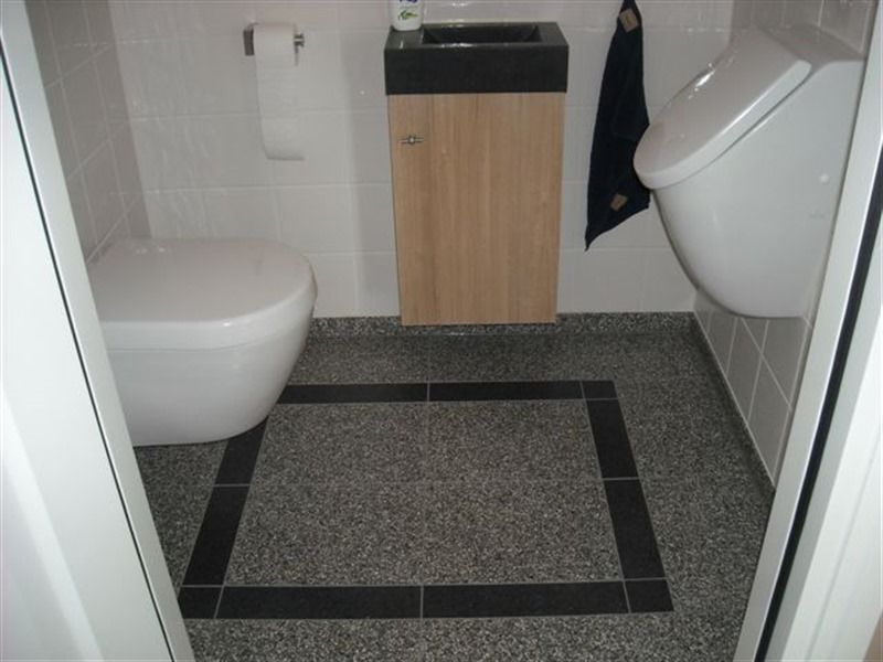 Toilet met terrazzo vloer hal wc in 2018 pinterest toilet