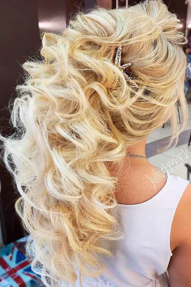 15 Elegant Prom Hairstyles Down | Prom hair, Hair styles ...