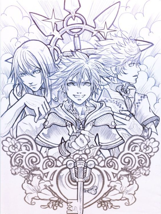 Pin de angel 824 en kingdom hearts fanarts | Pinterest