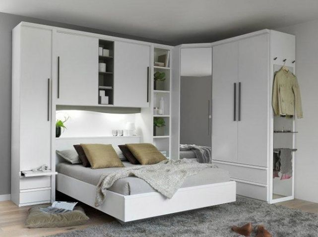 D co chambre armoire ou dressing vous de choisir bedrooms lights an - Lit escamotable ikea ...