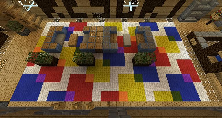 Interesting Carpet Idea 3 Minecraft Designs Minecraft