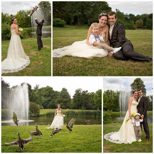 Diese Hochzeitsfotos Leipzig zeigen ein glckliches Brautpaar mit ihrem Kind  hochzeit