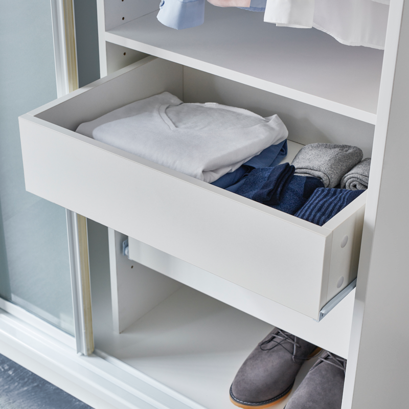 Find Bedford Wardrobe Solutions Narrow Drawer At Bunnings Warehouse Visit Your Local For The Widest Range Of Storage Cleaning Products