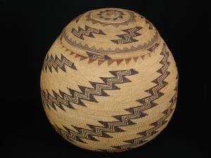A very large and impressive Karok basket
