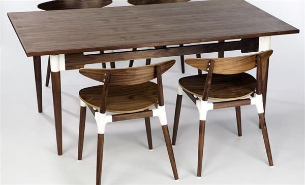 UK Furniture Maker Combines 3D Printing With Traditional Craftsmanship For Custom Modern Designs