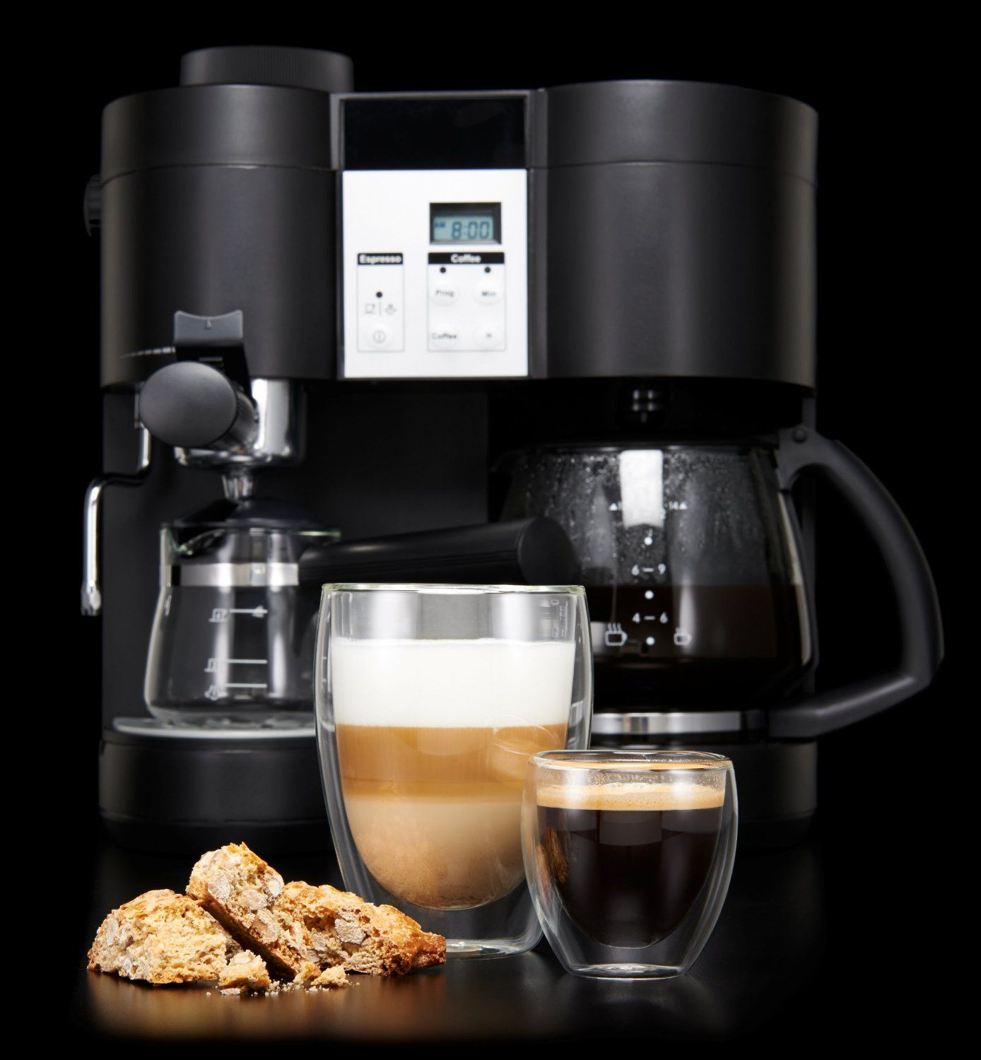 KRUPS XP160050 Coffee Maker and Espresso