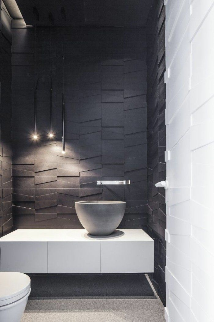 Wandgestaltung Badezimmer Bad Gestalten Wandgestaltung Ideen