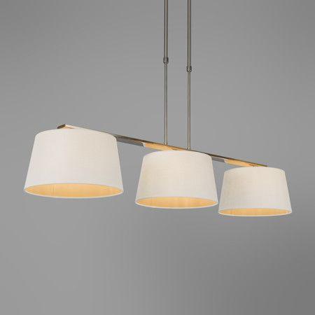 Pendelleuchte Combi Delux 3 Schirm Rund 30cm Weiss Lampe Esstischlampe Wohnzimmerlampe